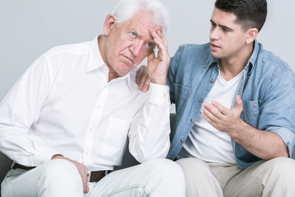 Talking to your loved ones about in home care for seniors.