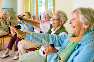 Seniors staying active, enjoying life to the fullest
