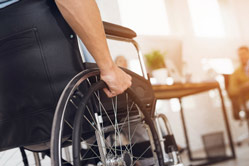 Home care assistance for wheelchair bound individuals